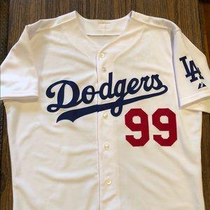 Majestic Authentic LA Dodgers Manny Ramirez jersey